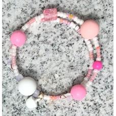 Double pinky slinky silicone beaded BFRB healing  bracelet