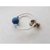 Child's BeauJulia Silicone Bead Bracelet