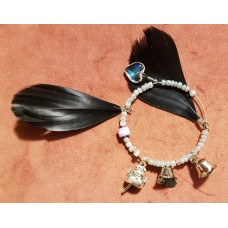 Can't Stop Me Now Feather Bracelet