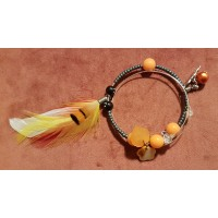 Neomie Feather Charm Bracelet