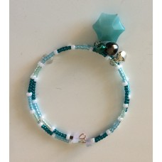 Secret Sara Green Aventurine Star Bracelet