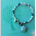 Secret Sara Green Aventurine Star Bracelet