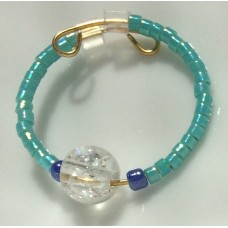 Cleopatra Teal and Blue ring