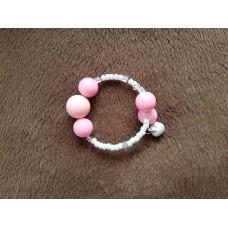 Child's Bubblegum Bell Bracelet