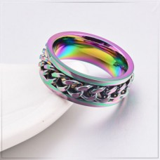 Spinner Fidget Ring - Coloured