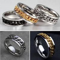 Spinner Fidget Ring - Black