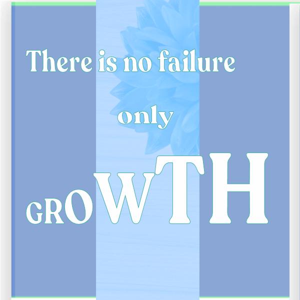 failure brings growth